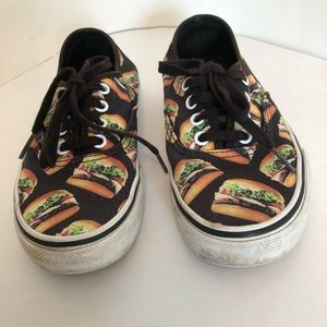 Vans Off The Wall Hamburger Sneakers. M-4/ W-5.5
